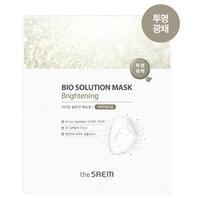 Saem Bio Solution био-маска для лица осветляющая 22 мл