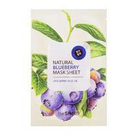Saem Natural Blueberry Mask Sheet Маска тканевая с экстрактом черники 21 мл