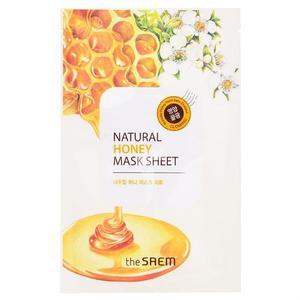 Saem Natural Honey Mask Sheet Маска тканевая с экстрактом меда 21 мл