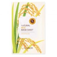 Saem Natural Rice Mask Sheet Маска тканевая с экстрактом риса 21 мл