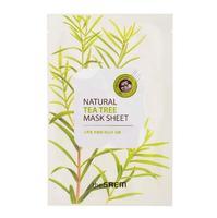 Saem Natural Tea Tree Mask Sheet Маска тканевая с экстрактом чайного дерева 21 мл