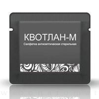 Салфетка Квотлан М стерильная антисептическая, 1 шт.
