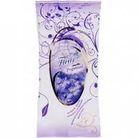 Салфетки влажные Премиал (Premial La Fleur) очищающие(фиалка) 15 шт.