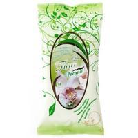 Салфетки влажные Премиал (Premial La Fleur) очищающие(орхидея) 15 шт.