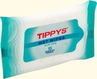 Салфетки влажные TIPPYS антибактериалные 15шт