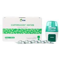 Салтиказон-натив порошок для ингаляций дозированный капсулы 50 мкг + 100 мкг 60 шт.
