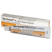 Кетонал крем 50 мг/1 г, 30 г