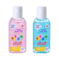 Санитель гель для рук детский с алоэ и витамин Е 60 мл