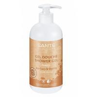 Sante Family гель для душа с био-кокосом и ванилью 500 мл