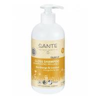 Sante Family шампунь для блеска с био-апельсином и кокосом 500 мл