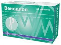 Венодиол таблетки, 30 шт.