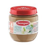 Семпер (Semper) Пюре цветная капуста с 4 мес. 125г 1 шт.