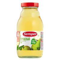 Семпер (Semper) Сок груша 4 мес. 200г упак.