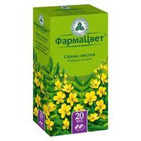 Сенны листья фильтрпакетики, 1,5 г, 20 шт.