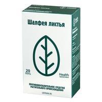 Шалфея листья фильтр-пакеты 1,5г № 20