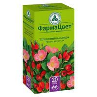 Шиповник плоды фильтрпакетики 2 г, 20 шт.