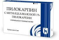 Пилокарпин 1% 5мл капли глазные фл.-кап. инд. уп. б (r)