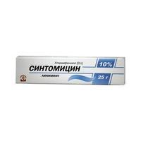Синтомицин линимент 10% , 25 г