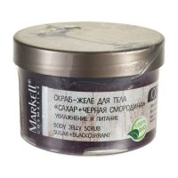 Скраб-желе Маркелл (Markell) для тела Natural Line сахар+черная смородина 280г упак.