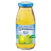 Сок Бабушкино Лукошко яблоко груша осветленный 5 мес. стекло 200г упак.