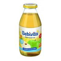 Сок Бэбивита (Bebivita) яблочный восстановленный осветленный с витаминами с 4 мес. 200г упак.