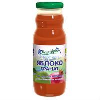 Сок Fleur Alpine Органик яблоко-гранат 8 мес. 200г упак.