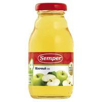 Сок Semper яблоко 4 мес. 200г упак.