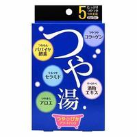Соль для ванны Kiyou Jochugiku Glowing & Glamorous Beauty Bath 5 видов 25 г 5 шт.