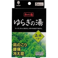 Соль для ванны Kiyou Jochugiku Горячие источники аромат леса 25 г 5 шт.