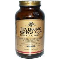 Солгар Комплекс жирных кислот 1300 мг Омега 3-6-9 капсулы 120 шт.