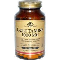 Солгар l-глутамин таблетки 1000 мг, 60 шт.