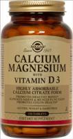 Солгар кальций - магний с витамином d3 табл.№150 (бад)