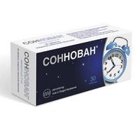 Соннован таблетки покрыт.плен.об. 3 мг 10 шт
