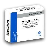 Хондрогард ампулы 100 мг/мл, 1 мл, 10 шт