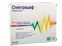 Спектрацеф таблетки 400 мг, 10 шт.