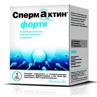 Спермактин форте пакетики 10 г 15 шт упак.