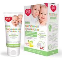 Сплат Зубная паста Splat для детей 0-3 лет Baby Яблоко-банан 40 мл + зубная щетка-напальчник упак.