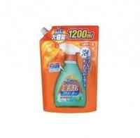 Спрей-пена ND очищающая от нагоревшего жира и масляных пятен на кухне Foam spray oil cleaner мягкая упак. 1200 мл 1 шт.