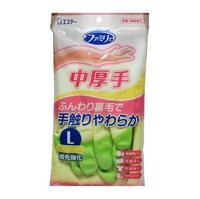 ST Перчатки Family уплотненные на пальцах средней толщины L зеленые 3