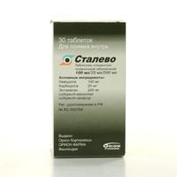 Сталево таблетки 100 мг, 30 шт.