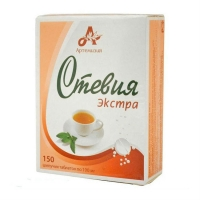 Стевия Экстра таблетки шипучие 100 мг, 150 шт.