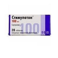 Стимулотон таблетки покрыт.плен.об. 100 мг 28 шт.