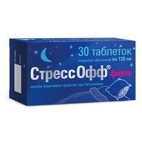 СтрессОфф форте таблетки 30 шт.