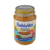 Суп Бэбивита (Bebivita) овощной с цыпленком 8 мес. 190г упак.