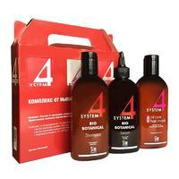 System 4 комплекс от выпадения волос (шампунь 215 мл + маска 215 мл + сыворотка 200 мл)