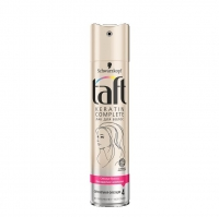 Taft Лак для волос Keratin Complete с жидким кератином сверхсильная фиксация 225мл