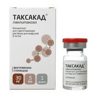 Таксакад конц. для пригот. р-ра для инфузий 6 мг/мл 5 мл флакон 1 шт.