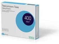 Тамсулозин-Тева капсулы с модиф. высв. 0.4 мг 30 шт.