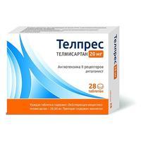 Телпрес таблетки 20 мг 28 шт.