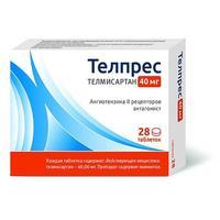 Телпрес таблетки 40 мг 28 шт.